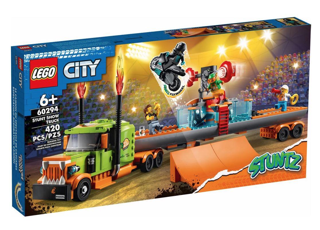 LEGO CITY TRUCK DELLO STUNT SHOW 60294