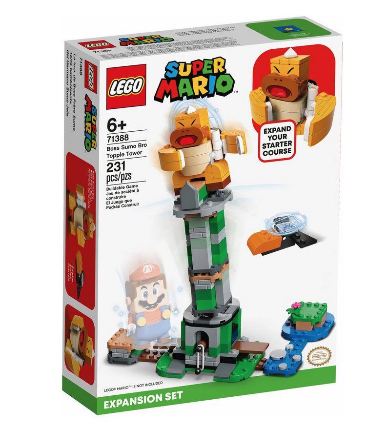 LEGO SUPER MARIO TORRE DEL BOSS SUMO BROS - PACK DI ESPANSIONE 71388