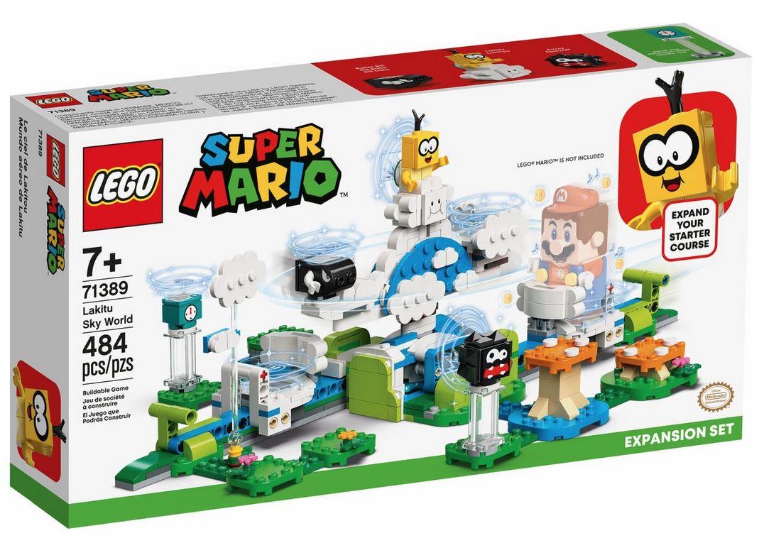 LEGO SUPER MARIO IL MONDO-CIELO DI LAKITU - PACK DI ESPANSIONE 71389