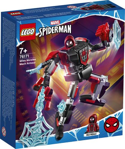 LEGO MARVEL SUPER HEROES ARMATURA MECH DI MILES MORALES 76171