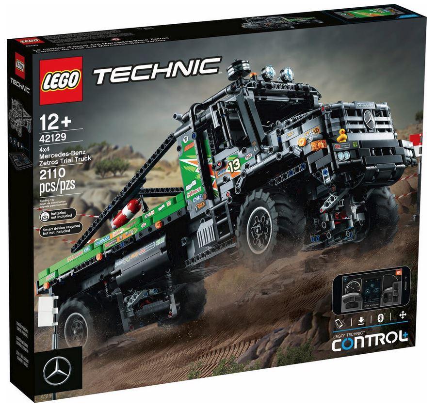 LEGO TECHNIC CAMION FUORISTRADA 4X4 MERCEDES BENZ ZETROS 42129