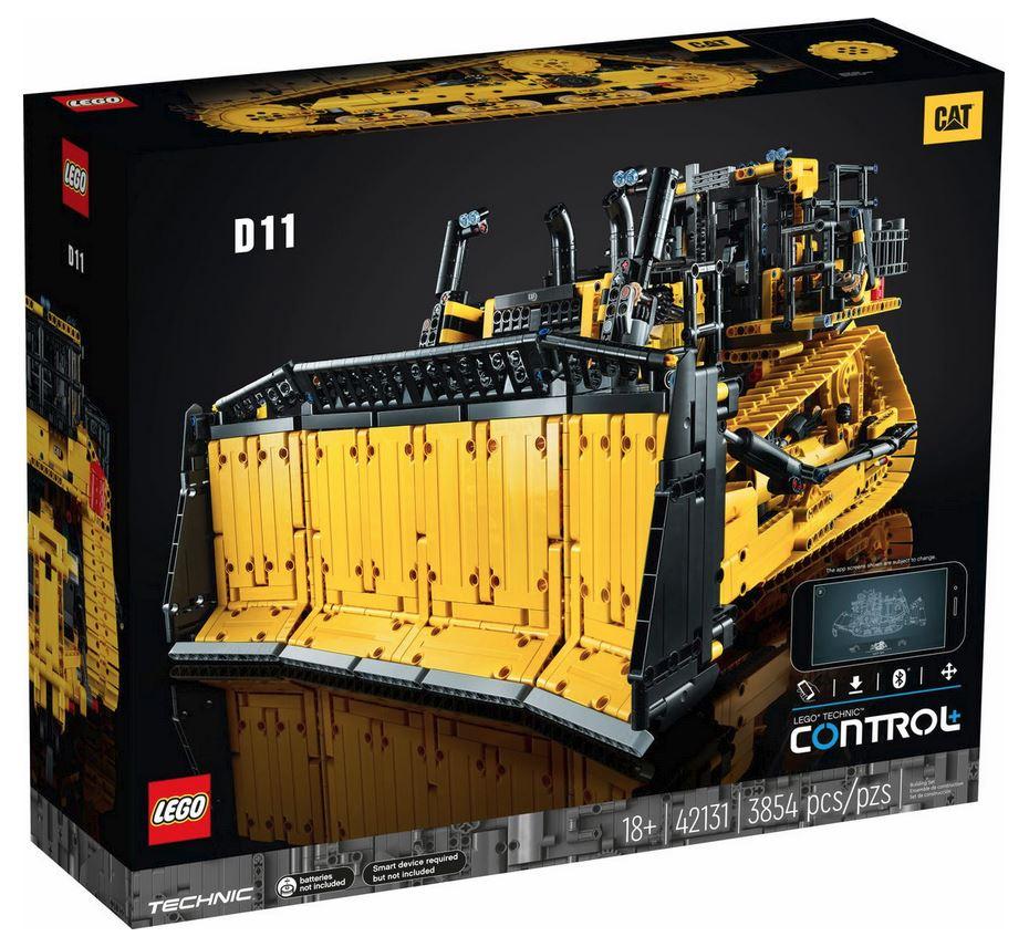 LEGO TECHNIC BULLDOZER CAT¨ D11T 42131