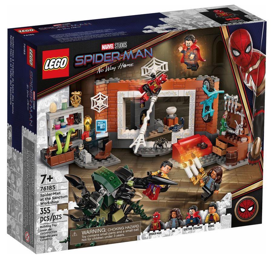 LEGO SUPER HEROES LA RESA DEI CONTI TRA SPIDER-MAN E SANDMAN 76185