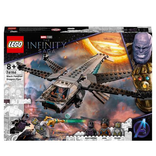 LEGO SUPER HEROES IL DRAGONE VOLANTE DI BLACK PANTHER 76186