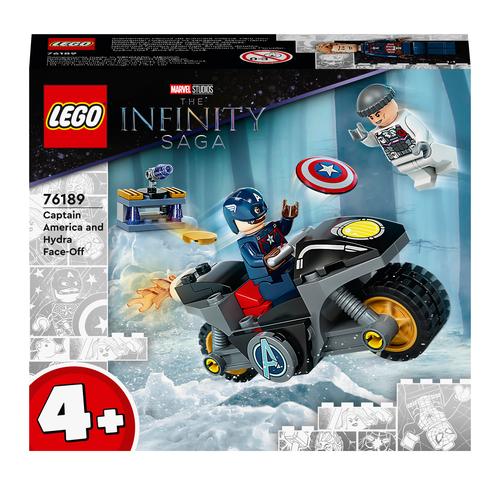 LEGO SUPER HEROES SCONTRO TRA CAPTAIN AMERICA E HYDRA 76189