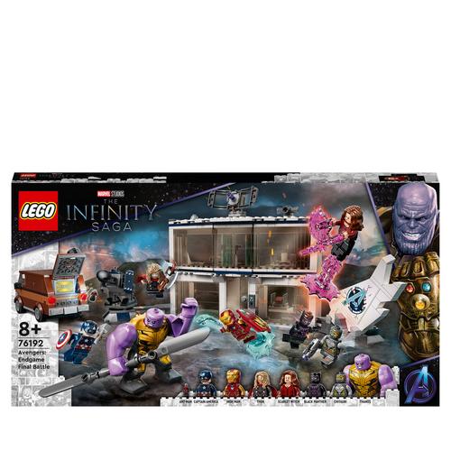 LEGO SUPER HEROES AVENGERS: ENDGAME, LA BATTAGLIA FINALE 76192