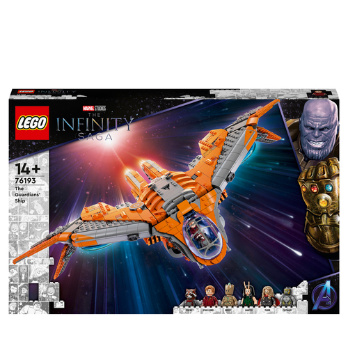 LEGO SUPER HEROES L'ASTRONAVE DEI GUARDIANI 76193