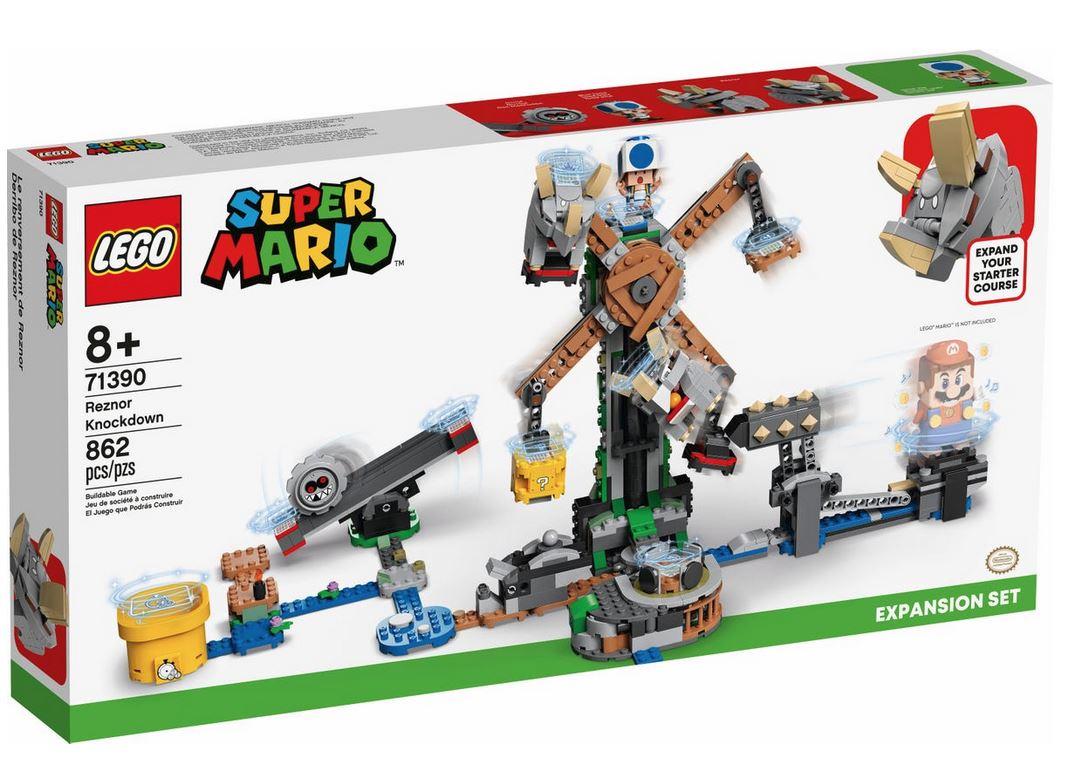 LEGO SUPER MARIO L'ABBATTIMENTO DEI REZNOR - PACK DI ESPANSIONE 71390