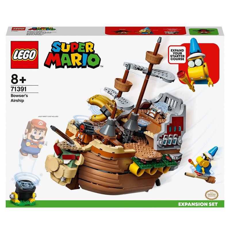 LEGO SUPER MARIO IL VELIERO VOLANTE DI BOWSER - PACK DI ESPANSIONE 71391