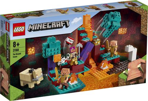 LEGO MINECRAFT LA WARPED FOREST 21168