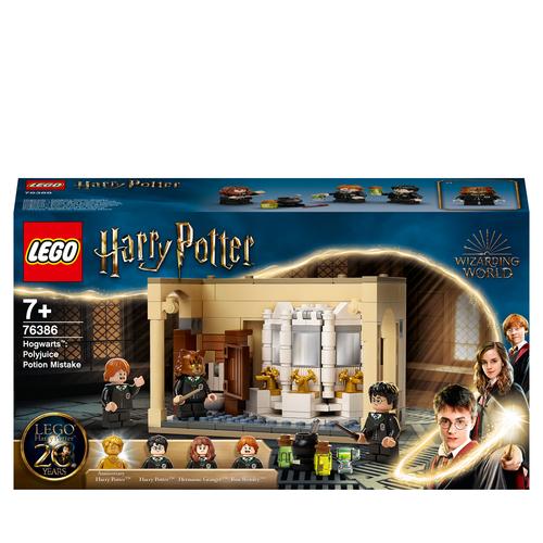 LEGO HARRY POTTER HOGWARTS: ERRORE DELLA POSIZIONE POLISUCCO 76386