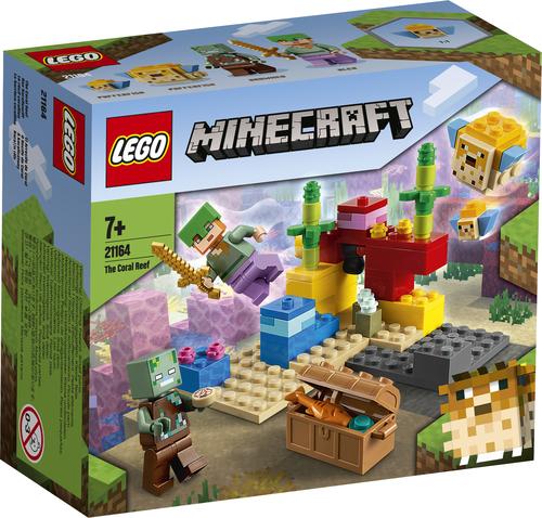 LEGO MINECRAFT LA BARRIERA CORALLINA 21164