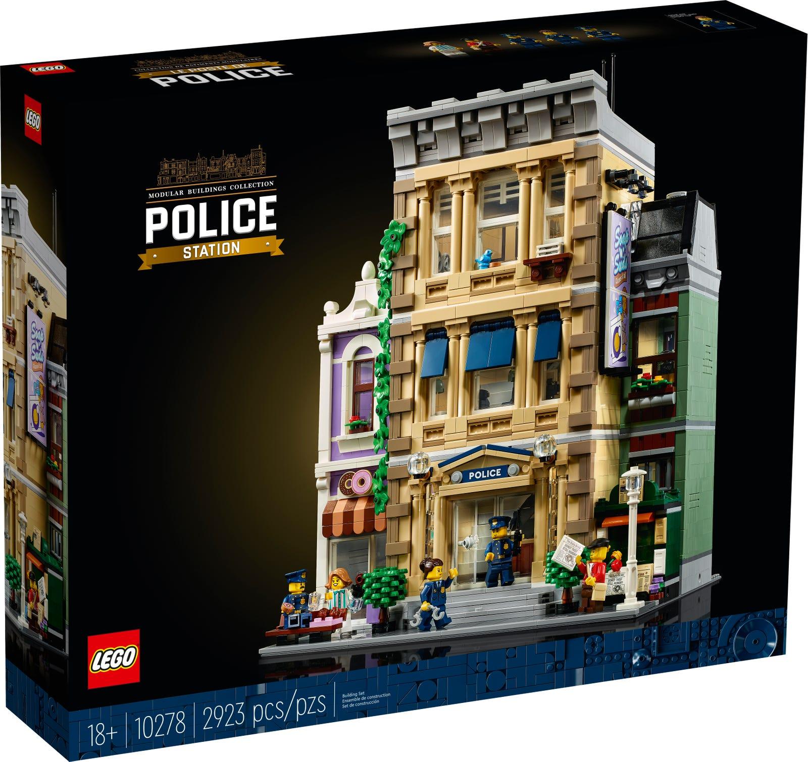 LEGO CREATOR EXPERT STAZIONE DELLA POLIZIA 10278