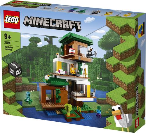 LEGO MINECRAFT LA CASA SULL'ALBERO MODERNA 21174