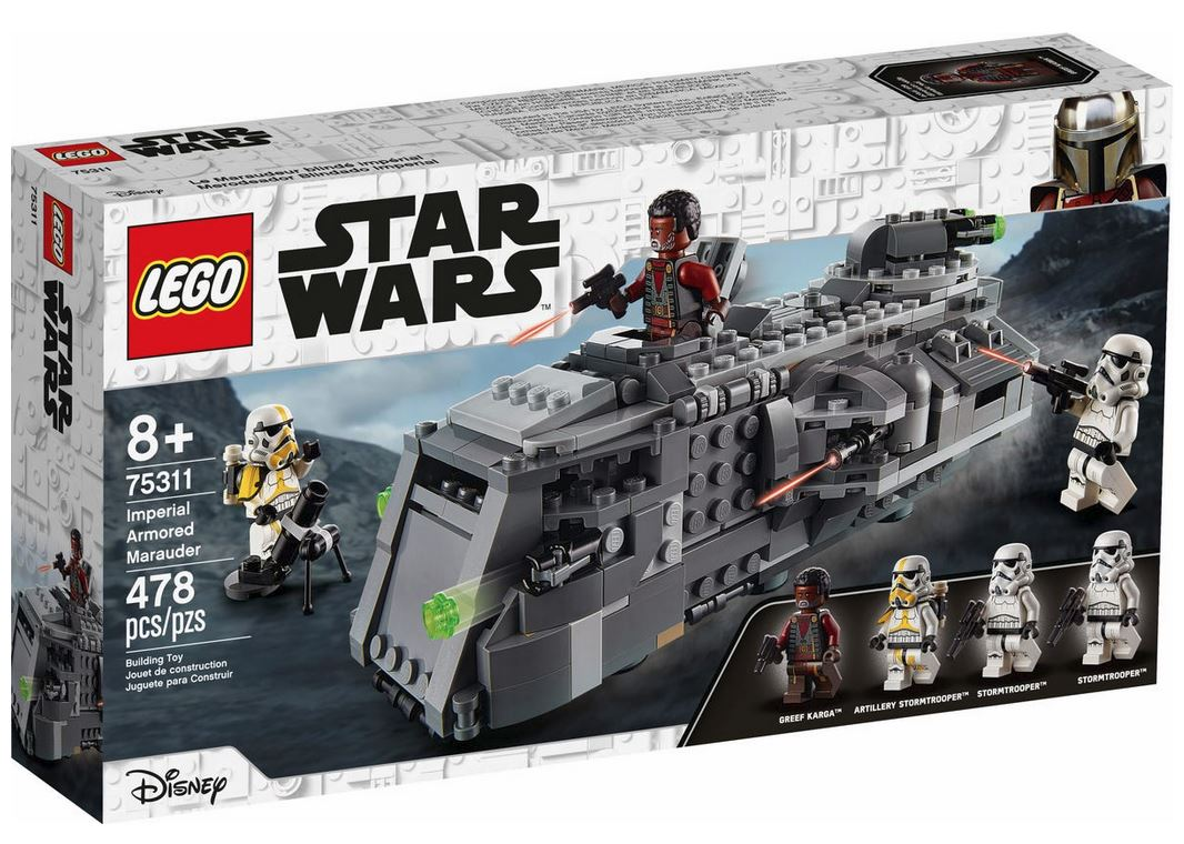 LEGO STAR WARS MARAUDER CORAZZATO IMPERIALE 75311