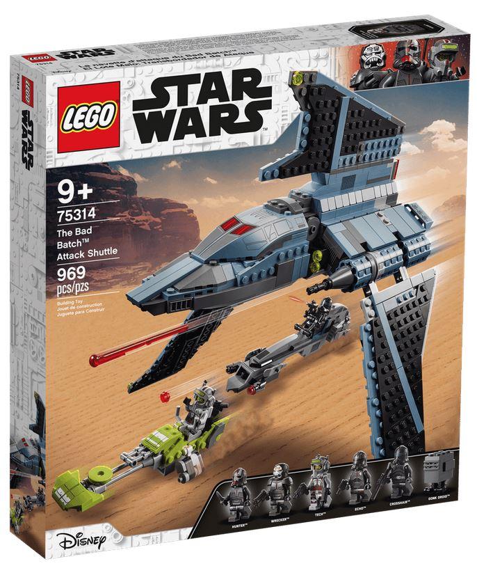 LEGO STAR WARS SHUTTLE DI ATTACCO THE BAD BATCH™ 75314