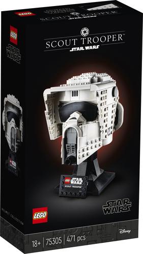 LEGO STAR WARS CASCO DA SCOUT TROOPER 75305