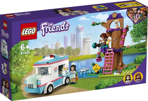 LEGO FRIENDS L'AMBULANZA DELLA CLINICA VETERINARIA 41445