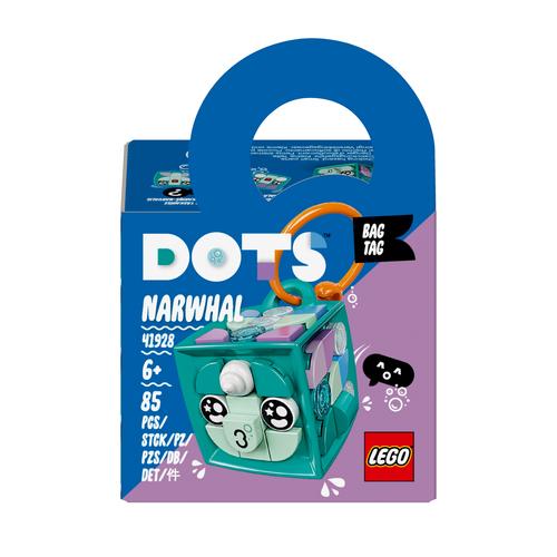 LEGO DOTS BAG TAG - NARVALO 41928