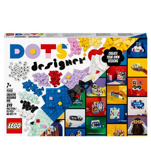 LEGO DOTS DESIGNER BOX CREATIVA 41938