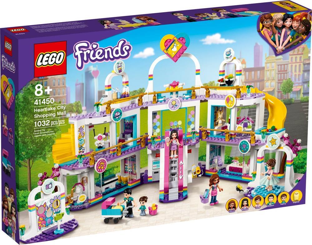LEGO FRIENDS IL CENTRO COMMERCIALE DI HEARTLAKE CITY 41450