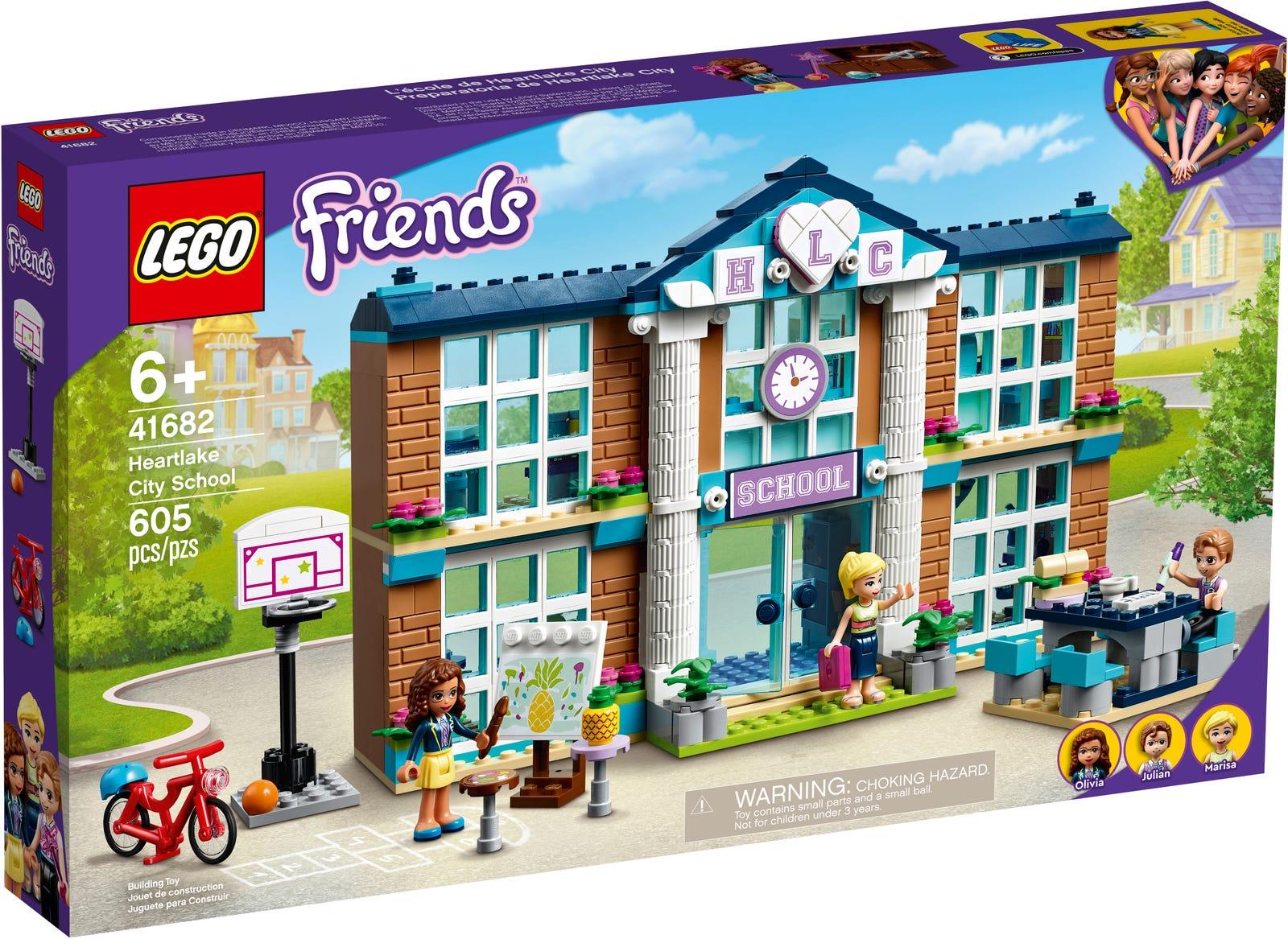 LEGO FRIENDS SCUOLA DI HEARTLAKE CITY 41682
