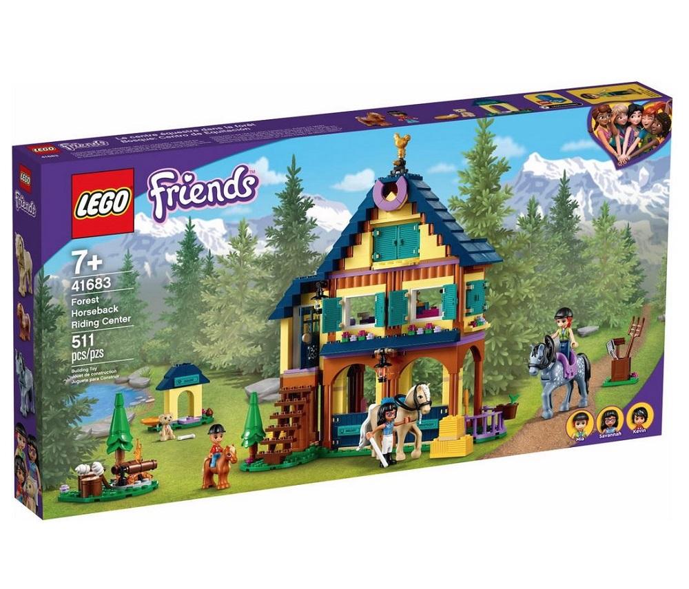 LEGO FRIENDS CENTRO EQUESTRE NELLA FORESTA 41683