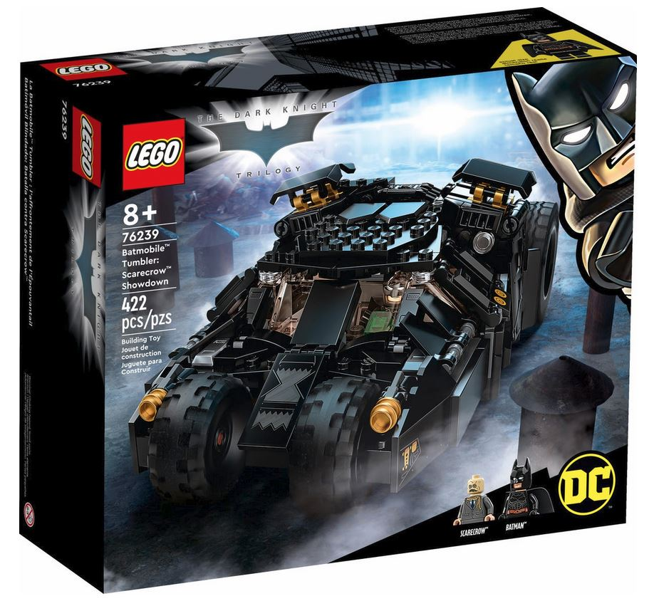 LEGO SUPER HEROES BATMOBILE TUMBLER: RESA DEI CONTI CON SCARECROW 76239