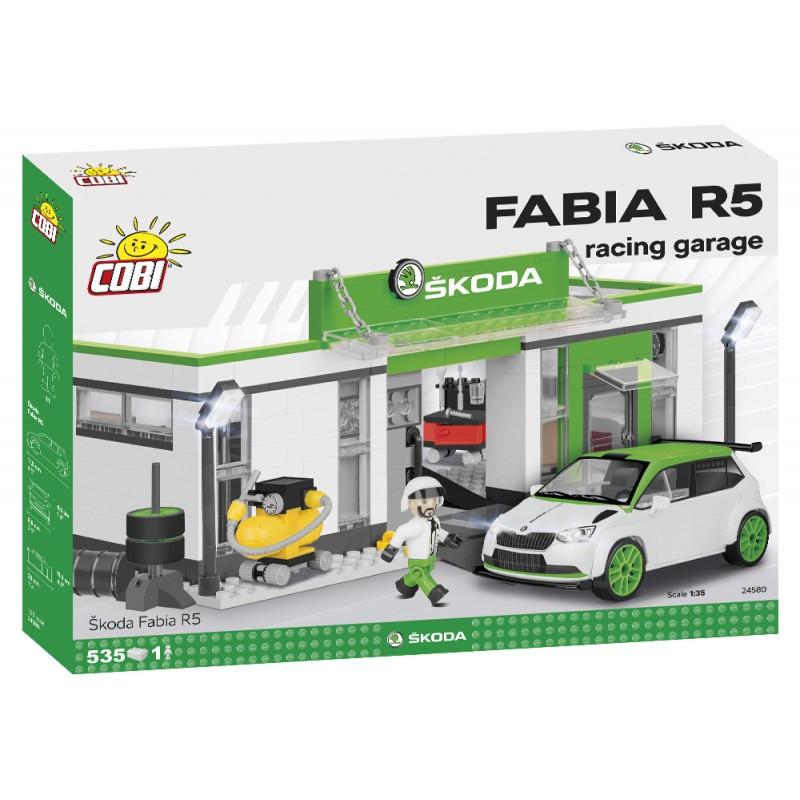COBI SKODA FABIA R5 RACING GARAGE 24580