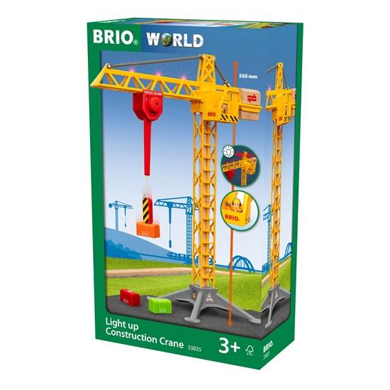 BRIO GRU CON LUCI 33835