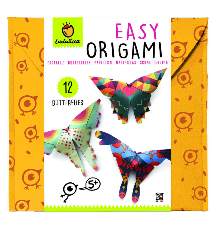 LUDATTICA EASY ORIGAMI FARFALLE 71074