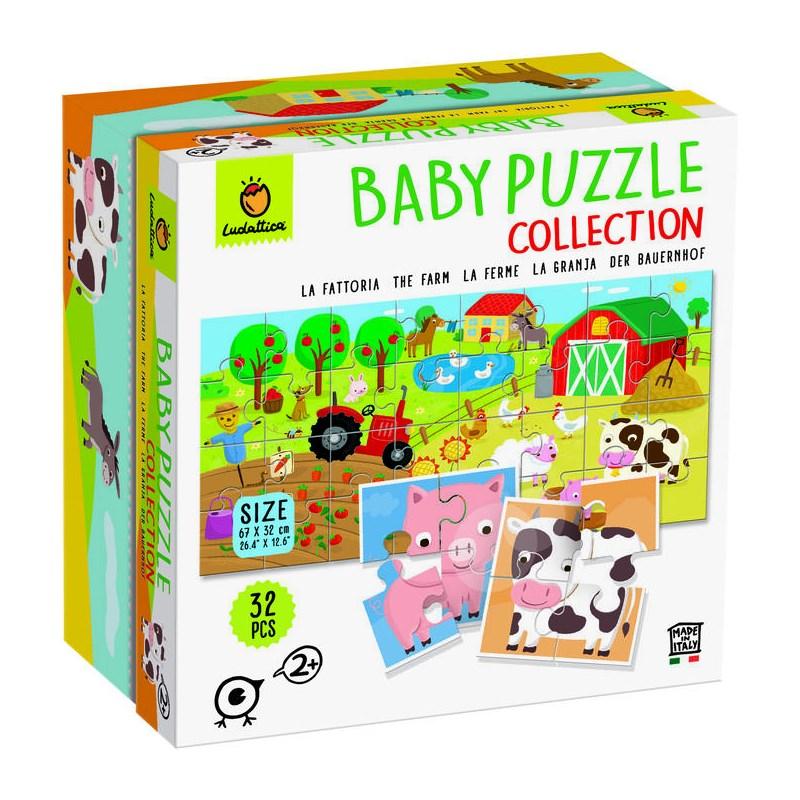 LUDATTICA BABY PUZZLE COLLECTION LA FATTORIA 74761