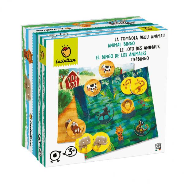 LUDATTICA FAMILY GAME - LA TOMBOLA DEGLI ANIMALI 74976