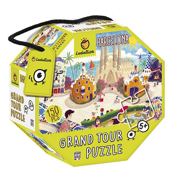 LUDATTICA PUZZLE GRAND TOUR BARCELLONA