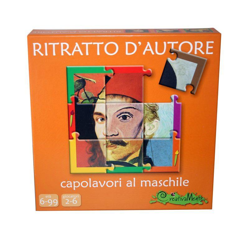 CREATIVAMENTE RITRATTO D'AUTORE - CAPOLAVORI AL MASCHILE