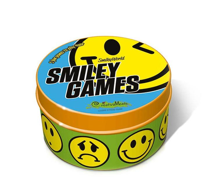 CREATIVAMENTE SMILEY GAMES - 5 FUN GAMES TO PLAY 4EVER