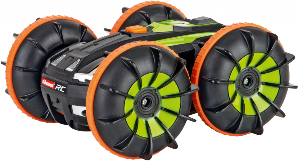 CARRERA RC MINI ALL-TERRAIN STUNT CAR- WATER CAR 2,4Ghz cod. 370142027X