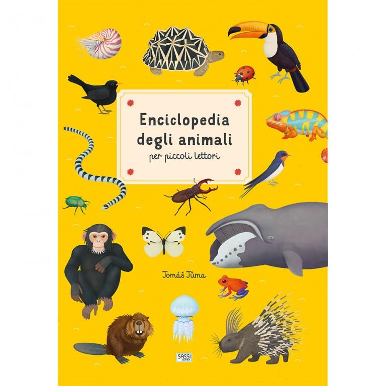 SASSI EDITORE SASSI EDITORE ENCICLOPEDIA DEGLI ANIMALI PER PICCOLI LETTORI