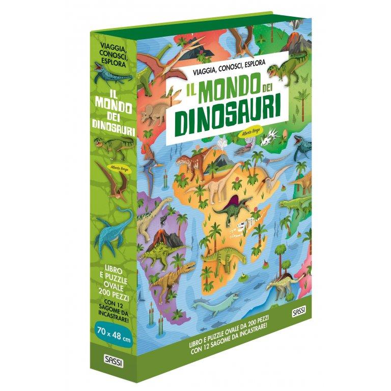 SASSI EDITORE WORLD OF - IL MONDO DEI DINOSAURI