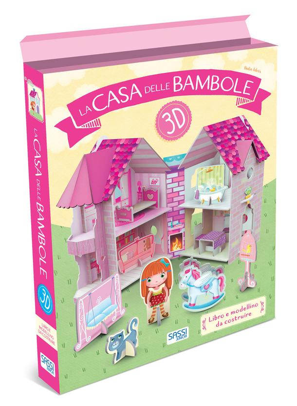 SASSI EDITORE 3D CARTON - LA CASA DELLE BAMBOLE 3D