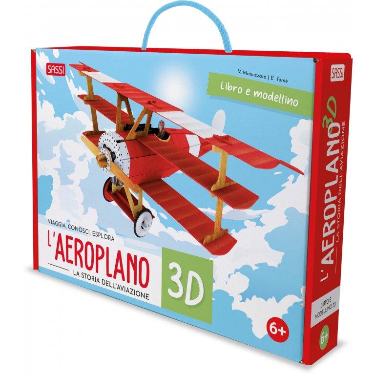 SASSI EDITORE L'AEROPLANO 3D. LA STORIA DELL'AVIAZIONE. NUOVA EDIZIONE 2021