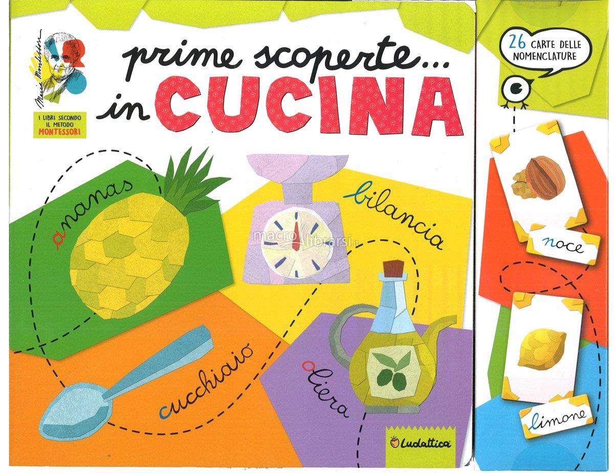 LISCIANI GIOCHI PRIME SCOPERTE... IN CUCINA 12594 MONTESSORI