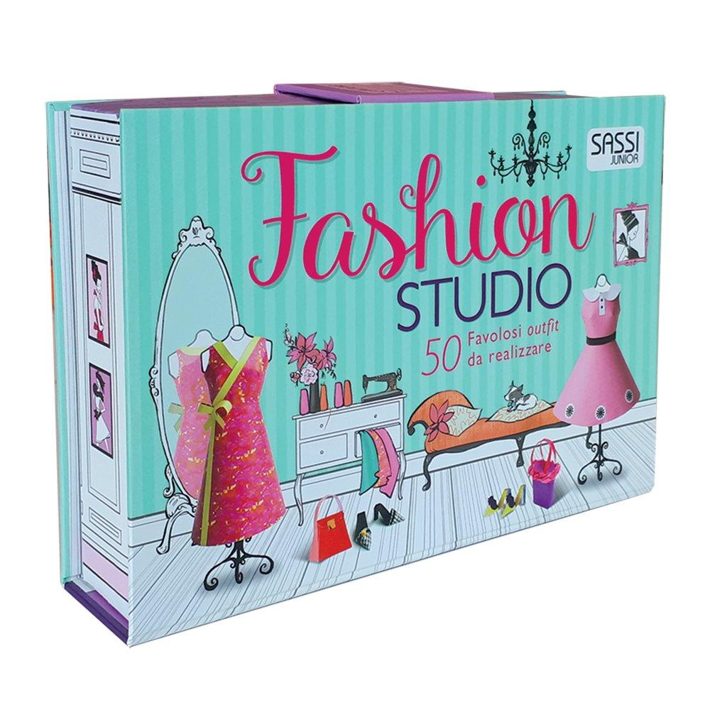 SASSI EDITORE FASHION STUDIO. ACTIVITY BOOKS di AA.VV.