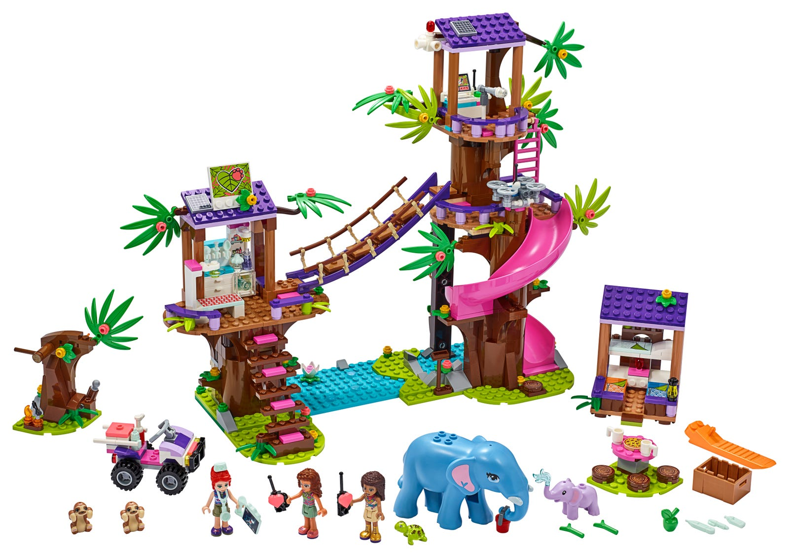 LEGO FRIENDS BASE DI SOCCORSO TROPICALE 41424